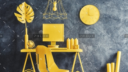 modern-yellow-workspace-interior-P6GN2J4